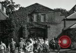 Image of American Red Cross workers Dartford Kent, 1918, second 9 stock footage video 65675029197