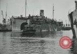 Image of American troops disembarking United Kingdom, 1918, second 2 stock footage video 65675029199
