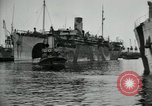 Image of American troops disembarking United Kingdom, 1918, second 8 stock footage video 65675029199