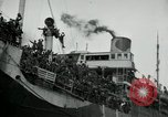 Image of American troops disembarking United Kingdom, 1918, second 9 stock footage video 65675029199