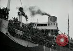 Image of American troops disembarking United Kingdom, 1918, second 10 stock footage video 65675029199