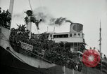 Image of American troops disembarking United Kingdom, 1918, second 11 stock footage video 65675029199
