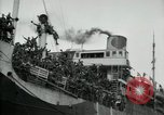 Image of American troops disembarking United Kingdom, 1918, second 12 stock footage video 65675029199