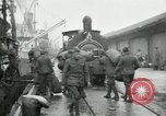 Image of dock United Kingdom, 1918, second 1 stock footage video 65675029200