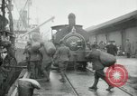 Image of dock United Kingdom, 1918, second 3 stock footage video 65675029200