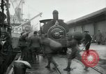 Image of dock United Kingdom, 1918, second 4 stock footage video 65675029200