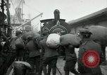 Image of dock United Kingdom, 1918, second 8 stock footage video 65675029200