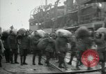 Image of dock United Kingdom, 1918, second 10 stock footage video 65675029200