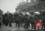 Image of dock United Kingdom, 1918, second 12 stock footage video 65675029200
