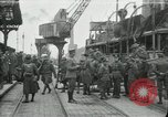 Image of American 111th Infantry  Calais France, 1918, second 1 stock footage video 65675029206