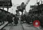 Image of American 111th Infantry  Calais France, 1918, second 5 stock footage video 65675029206