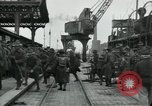 Image of American 111th Infantry  Calais France, 1918, second 6 stock footage video 65675029206