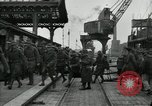 Image of American 111th Infantry  Calais France, 1918, second 9 stock footage video 65675029206