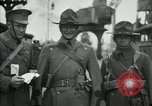 Image of American 112th Infantry Regiment Calais France, 1918, second 2 stock footage video 65675029207