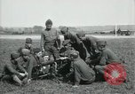 Image of US Army Machine gun training France, 1918, second 3 stock footage video 65675029210