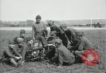 Image of US Army Machine gun training France, 1918, second 4 stock footage video 65675029210
