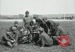 Image of US Army Machine gun training France, 1918, second 5 stock footage video 65675029210