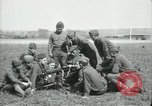 Image of US Army Machine gun training France, 1918, second 7 stock footage video 65675029210