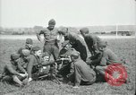 Image of US Army Machine gun training France, 1918, second 8 stock footage video 65675029210