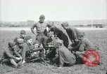 Image of US Army Machine gun training France, 1918, second 9 stock footage video 65675029210