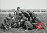 Image of US Army Machine gun training France, 1918, second 10 stock footage video 65675029210