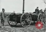 Image of Horse-drawn mobile field kitchen France, 1918, second 2 stock footage video 65675029211