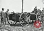 Image of Horse-drawn mobile field kitchen France, 1918, second 4 stock footage video 65675029211
