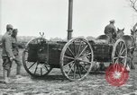 Image of Horse-drawn mobile field kitchen France, 1918, second 6 stock footage video 65675029211