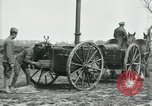 Image of Horse-drawn mobile field kitchen France, 1918, second 7 stock footage video 65675029211