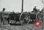 Image of Horse-drawn mobile field kitchen France, 1918, second 8 stock footage video 65675029211