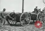 Image of Horse-drawn mobile field kitchen France, 1918, second 9 stock footage video 65675029211