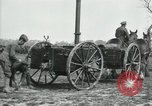 Image of Horse-drawn mobile field kitchen France, 1918, second 10 stock footage video 65675029211