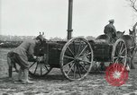 Image of Horse-drawn mobile field kitchen France, 1918, second 11 stock footage video 65675029211