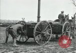 Image of Horse-drawn mobile field kitchen France, 1918, second 12 stock footage video 65675029211