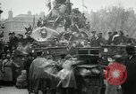 Image of doves released in celebration Paris France, 1919, second 7 stock footage video 65675029217
