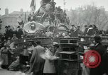 Image of doves released in celebration Paris France, 1919, second 9 stock footage video 65675029217
