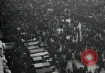Image of aerial view celebration of Alsace-Lorraine return to France Paris France, 1919, second 2 stock footage video 65675029219