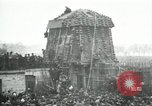 Image of German airplane dismantled by crowd Paris France, 1919, second 1 stock footage video 65675029220