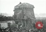 Image of German airplane dismantled by crowd Paris France, 1919, second 2 stock footage video 65675029220
