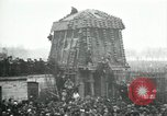 Image of German airplane dismantled by crowd Paris France, 1919, second 4 stock footage video 65675029220