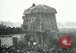 Image of German airplane dismantled by crowd Paris France, 1919, second 7 stock footage video 65675029220