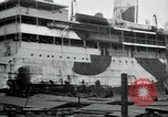 Image of Red Cross nurses return to United States Saint Nazaire France, 1919, second 5 stock footage video 65675029221