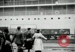Image of Red Cross nurses return to United States Saint Nazaire France, 1919, second 8 stock footage video 65675029221