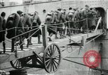 Image of American70th and 71st Coast Artillery on SS Manchuria Saint Nazaire France, 1919, second 12 stock footage video 65675029228