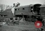Image of railroad guns Belleville France, 1918, second 2 stock footage video 65675029230
