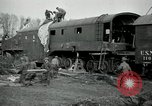 Image of railroad guns Belleville France, 1918, second 3 stock footage video 65675029230