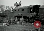 Image of railroad guns Belleville France, 1918, second 10 stock footage video 65675029230
