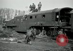 Image of railroad guns Belleville France, 1918, second 12 stock footage video 65675029230
