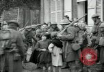 Image of US Army troops with French children in World War 1 France, 1918, second 3 stock footage video 65675029238