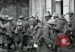 Image of US Army troops with French children in World War 1 France, 1918, second 8 stock footage video 65675029238